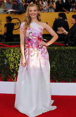 Natalie Dormer arrives at the 21st annual Screen Actors Guild Awards in Los Angeles