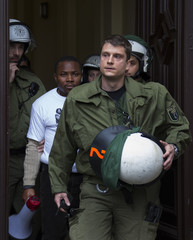 Police detain demonstrator who took part in brief occupation of Nigerian embassy in Berlin