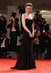 """U.S. actress Ryder poses during the red carpet for the movie """"Iceman"""" at the 69th Venice Film Festival"""
