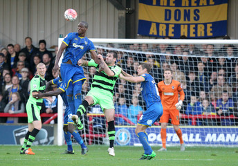 AFC Wimbledon v Forest Green Rovers - FA Cup First Round
