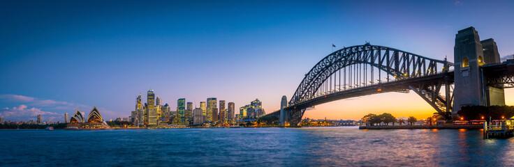 Downtown Sydney skyline Fototapete