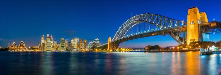 Fotomurales - Downtown Sydney skyline