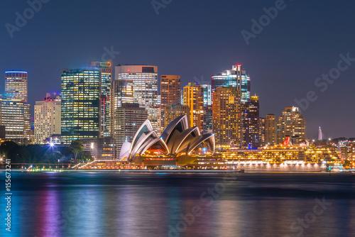 Fotomurales Downtown Sydney skyline