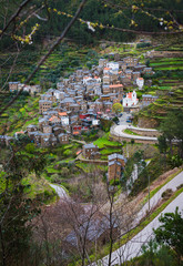 Piodao is a traditional shale village in the mountains. District of Coimbra. Portugal