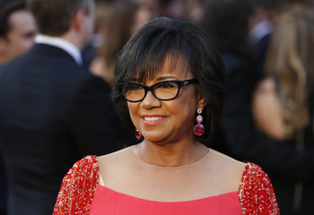Academy President Cheryl Boone Isaacs arrives at the 88th Academy Awards in Hollywood