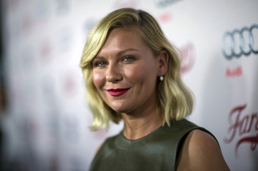 "Cast member Dunst poses at a screening of FX Networks' television series ""Fargo"" in Los Angeles"