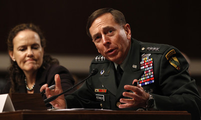 Petraeus testifies on Capitol Hill in Washington
