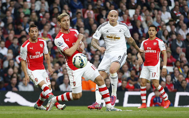 Arsenal v Swansea City - Barclays Premier League