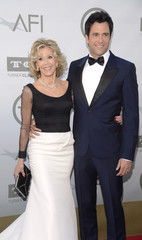 Jane Fonda and son Troy Garity attend AFI's 42nd Life Achievement Award presentation in Los Angeles