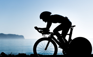 Triathletin Silhouette