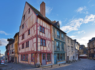 Ancient part of the French city Le Mans