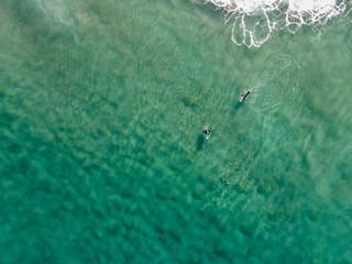 Surfing in the Atlantic Ocean.