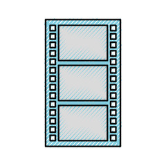 tape record film icon vector illustration design