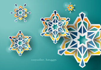 Celebration Greeting Ramadan Islamic Design
