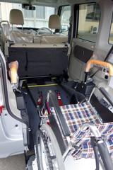 車椅子の積み込み