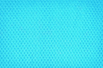 Pattern of blue abstract plastic tissue