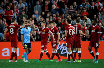 Soccer Football - Liverpool Tour - Sydney FC vs Liverpool