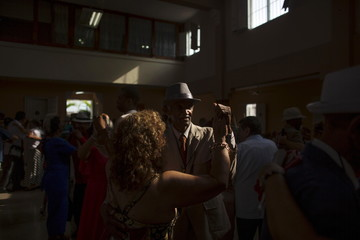 People dance during the  9th International Festival Danzon in Havana