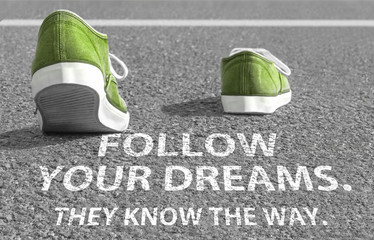 Follow your dreams. They know the way.