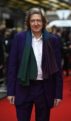 Writer Guy Hibbert poses for photos at the UK premiere of Eye in the Sky, at a cinema in central London, Britain