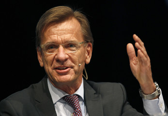 CEO of Volvo Cars Samuelsson speaks during the 'International CAR Symposium' in Bochum