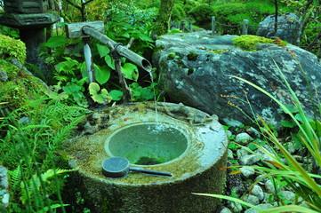 石川の那谷寺の水琴窟