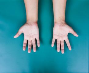 Man hand texture