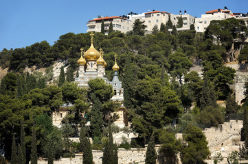 idron Valley and the Mount of Olives