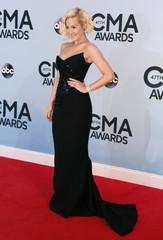 Singer Kellie Pickler arrives at the 47th Country Music Association Awards in Nashville, Tennessee