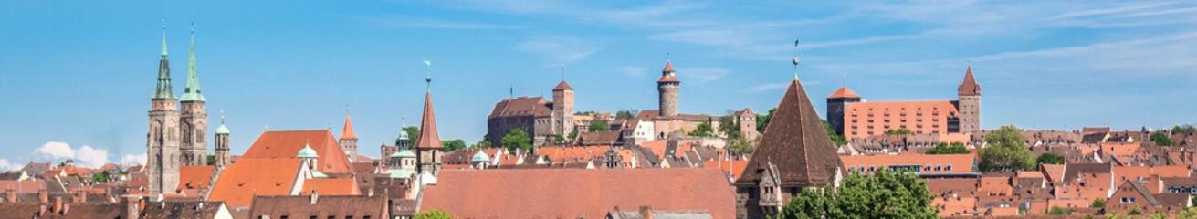Nürnberg Altstadt Panorama