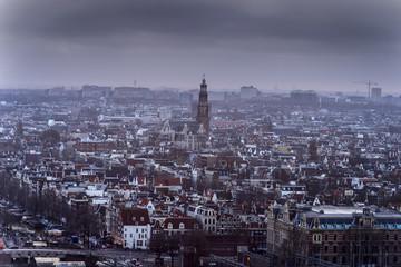 Panorama image of the Amsterdam