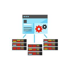 Server management control panel icon