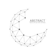 Abstract globe shape