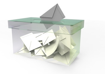 the ballot box