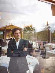 Business man in Restaurant