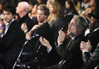 Recording Academy President Portnow applauds during The Grammy Nominations Concert Live - Countdown to the Music's Biggest Night event in Los Angeles