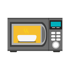 microwave oven icon image vector illustration design