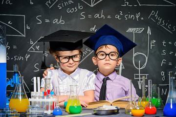 smart children concept