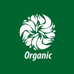 vector logo organic