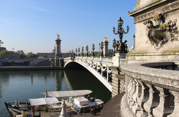 Pont Alexandre and Invalides, Paris