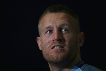 Terry Flanagan after the press conference