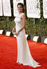 "Actress Eva LaRue from the TV drama ""CSI:Miami"" arrives at the 67th annual Golden Globe Awards in Beverly Hills"