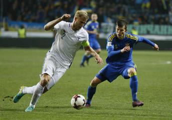 Ukraine v Finland - 2018 World Cup Qualifying European Zone - Group I