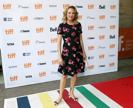"""Actress Virginia Madsen arrives for the premiere of the film """"Burn Your Maps"""" at TIFF"""