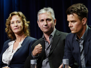 "Executive producer Shore of the new series ""Battle Creek"" participate in a panel discussion during CBS network's portion of the 2014 TCA Cable Summer Press Tour in Beverly Hills"