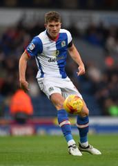 Blackburn Rovers' Sam Gallagher