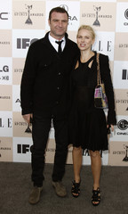 Actors Liev Schreiber and Naomi Watts arrive at the 2011 Film Independent Spirit Awards in Santa Monica