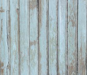 vintage blue wood planks texture or background