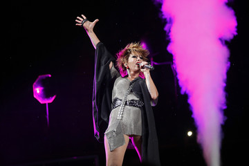 86ee4946cdc Mexican singer-songwriter Alejandra Guzman performs during the first-ever  iHeartRadio Fiesta Latina at