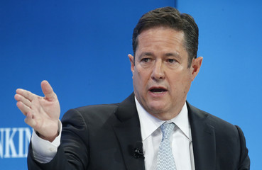 Staley CEO of Barclays bank attends the WEF annual meeting in Davos